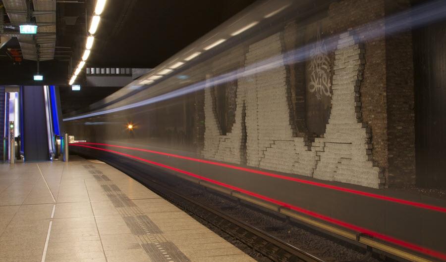 Metro rijdt nieuwjaarsnacht - Over GVB