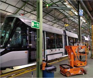 Eerste 15G tram bijna af in fabriek Spanje
