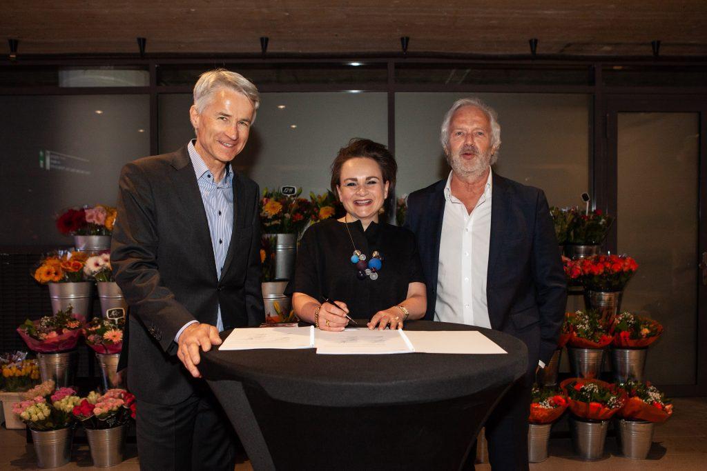 Ondertekening samenwerkingsovereenkomst GVB - MET