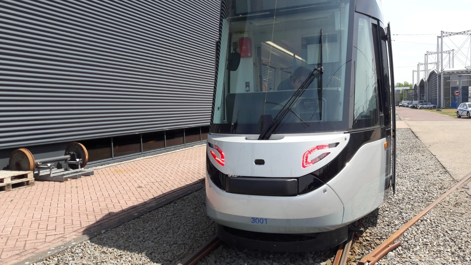 eerste 15G tram grootwagennummer 3001