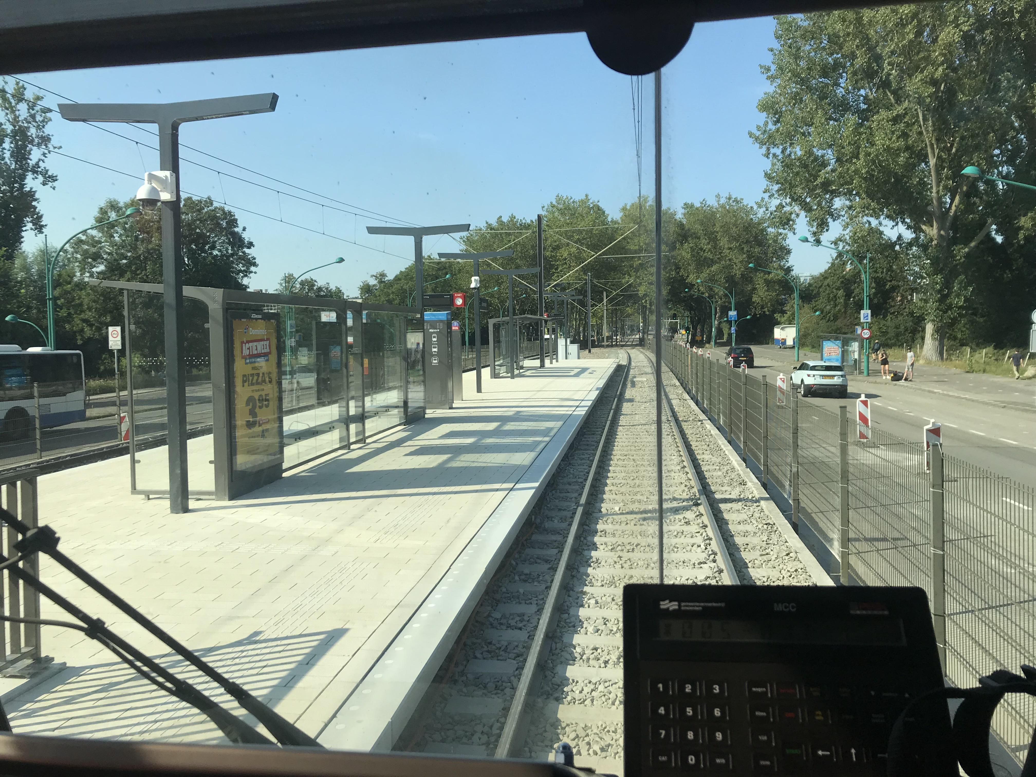 Testrit tram Amstelveenlijn