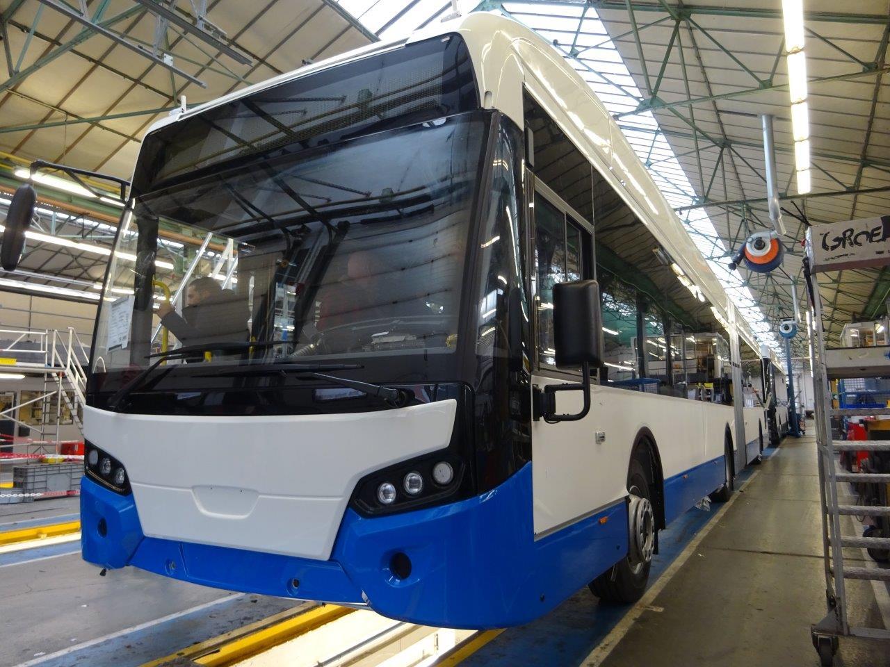 Bouw elektrische bus is hier bijna voltooid.