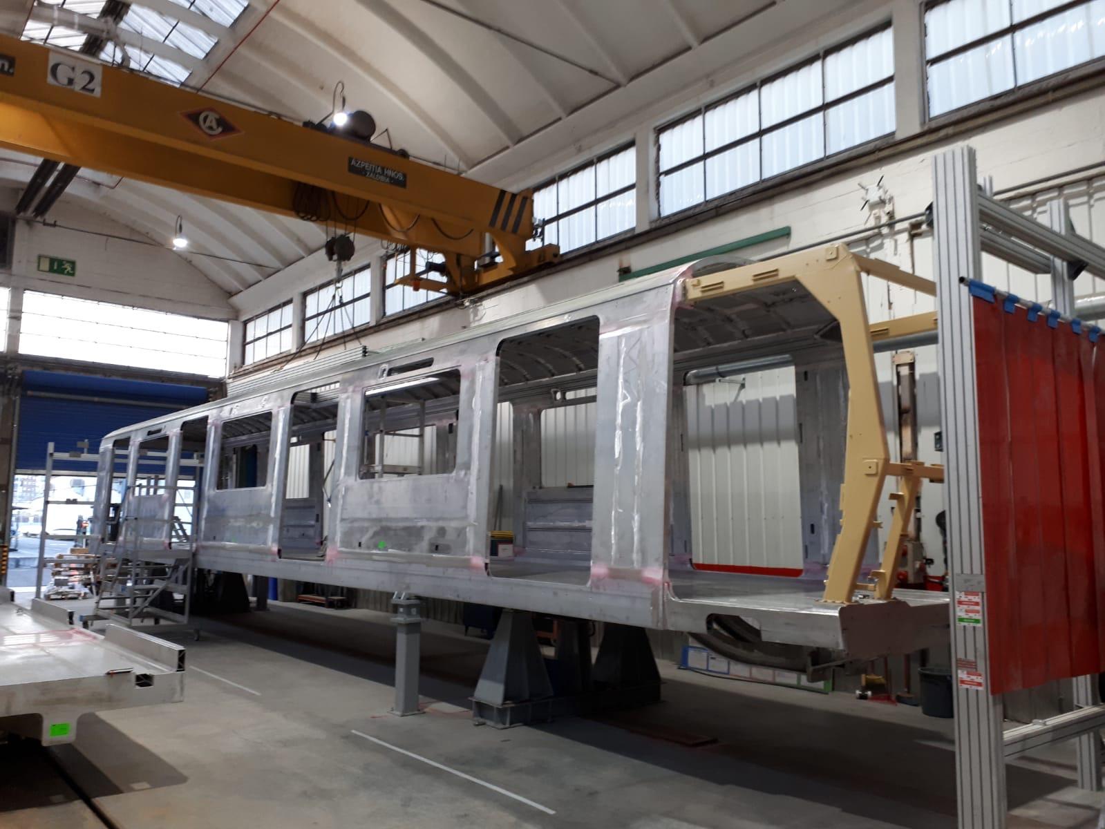 Wagenbak nieuwe M7 metro casco met cabine