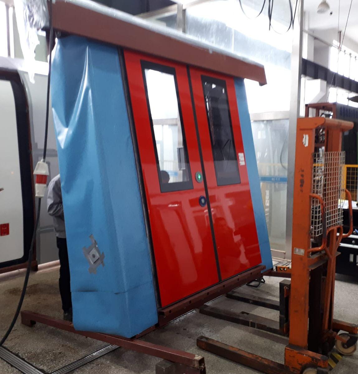 Test deuren nieuwe M7 metro