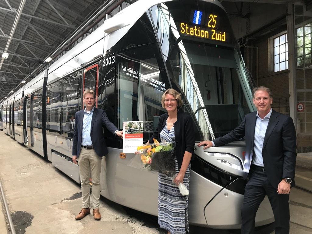 GVB ontvangt indienststellingsvergunning nieuwe 15G tram