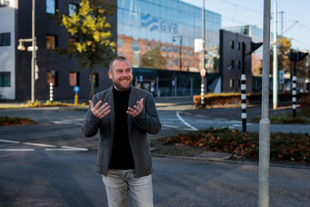 Rene Hondeveld, verkeersleiding GVB