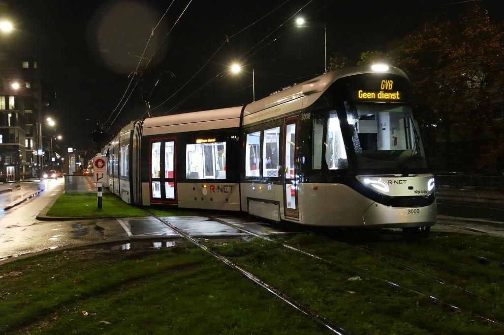 versporing Amstelveenlijn lijn 25 proefbedrijf