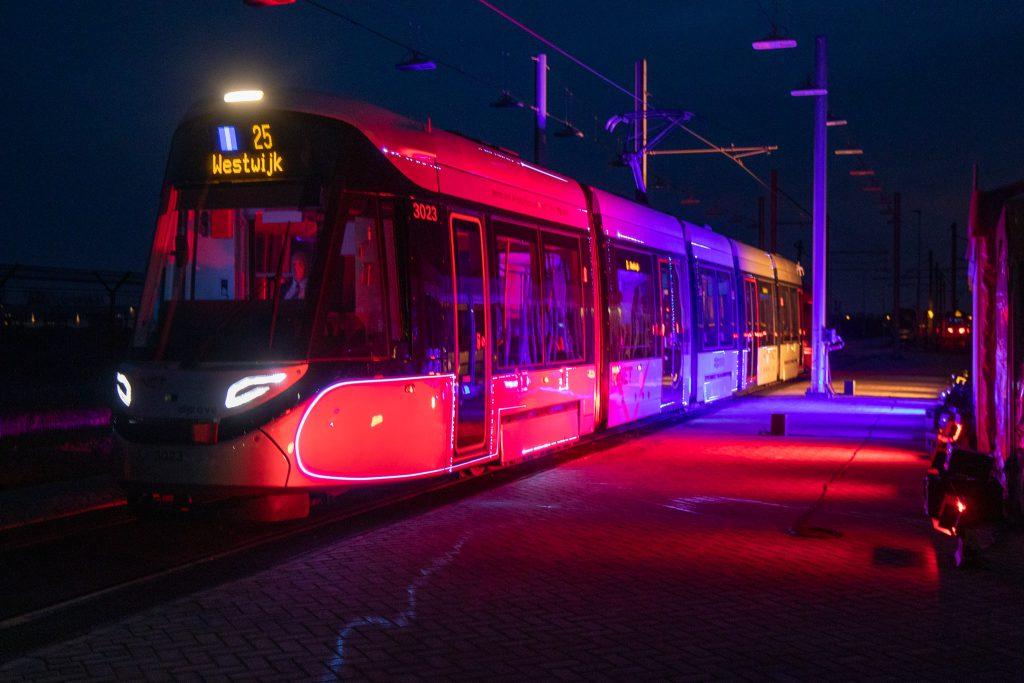 Amstelveenlijn lijn 25 opening lichtshow 15G tram