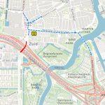 omleiding richting Utrecht